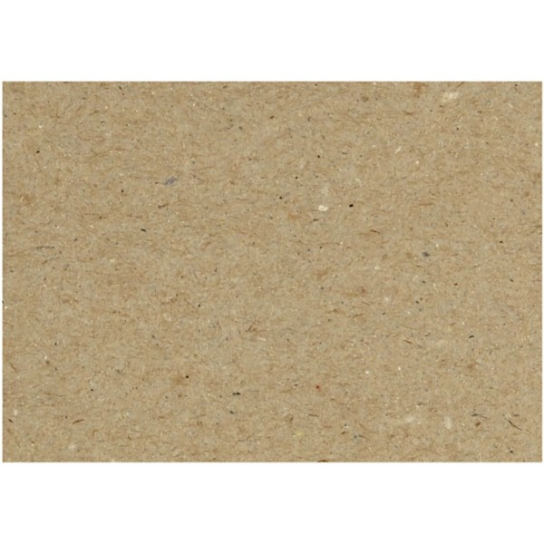 Carton recyclé, feuille 46x64 cm, 225 gr, 125 flles - Photo n°1