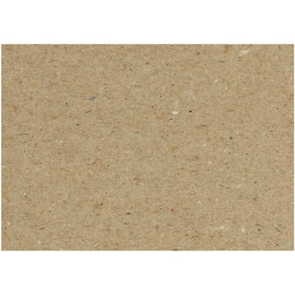 Feuilles de carton recyclé - A4 21 x 29,7 cm - 125 pcs - Photo n°1