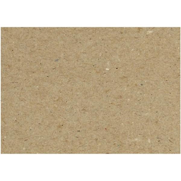 Feuilles de carton recyclé - A4 21 x 29,7 cm - 10 pcs - Photo n°1