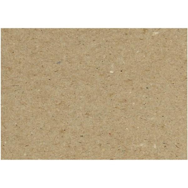 Feuilles de carton recyclé - A5 14,8 x 21 cm - 125 pcs - Photo n°1