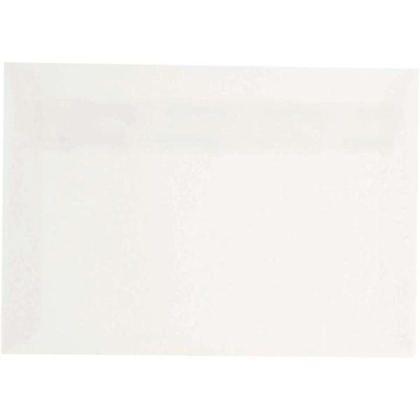 Enveloppes - 11,4 x 16,2 cm - Blanc cassé - 50 pcs - Photo n°1
