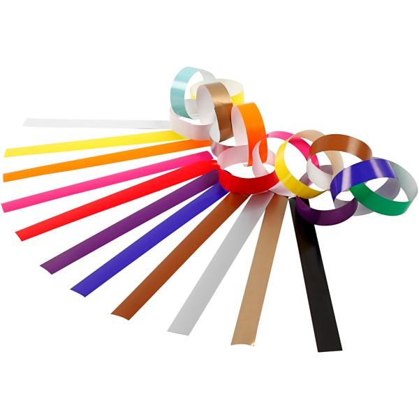 Kit de création de guirlande en papier - Couleurs assorties - 2400 pcs - Photo n°1