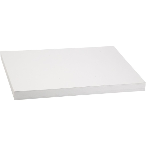 Papier cartonné A3 - Blanc - 250 g - 100 pcs - Photo n°1