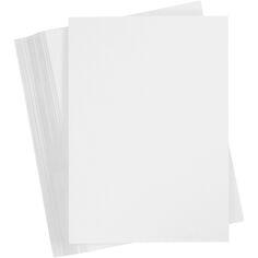 Papier cartonné A4 - Blanc - 250 g - 100 pièces