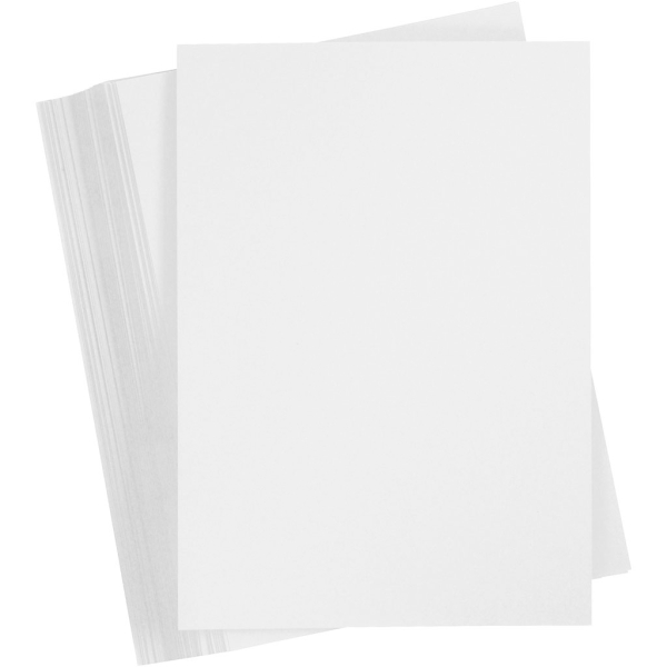 Papier cartonné A4 - Blanc - 250 g - 100 pcs - Photo n°1