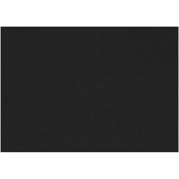 Papier cartonné A4 - Noir - 200 g - 100 pcs - Photo n°1