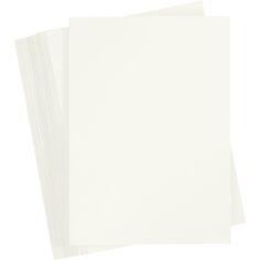 Papier cartonné - A6 - Ivoire - 180 gr - 100 feuilles