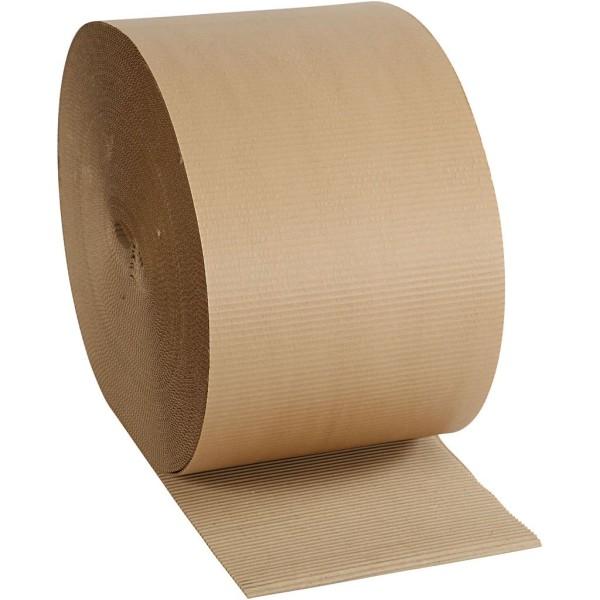 Rouleau de carton ondulé - 30 cm x 70 m - Photo n°1
