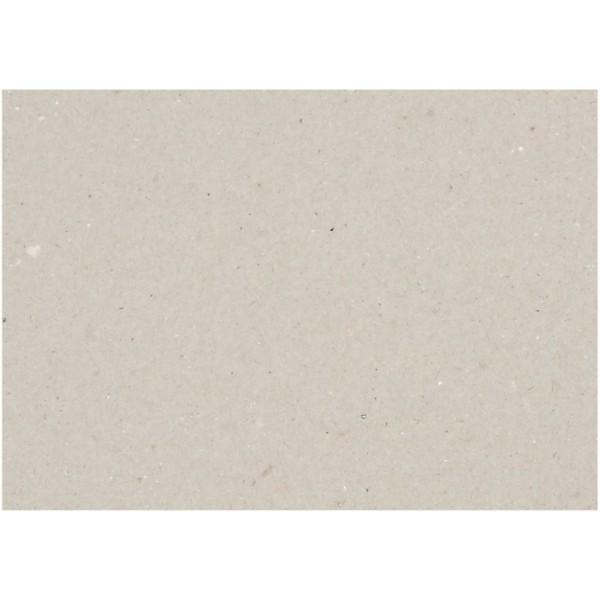 Carton gris 25 x 35 cm - Epaisseur 1,5 mm - 10 pcs - Photo n°1