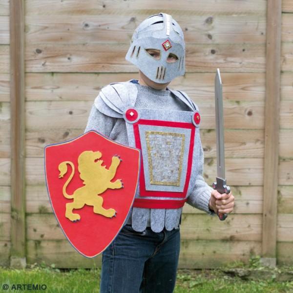 Épée chevalier à décorer en bois - 9 x 50 x 1,2 cm - Photo n°2