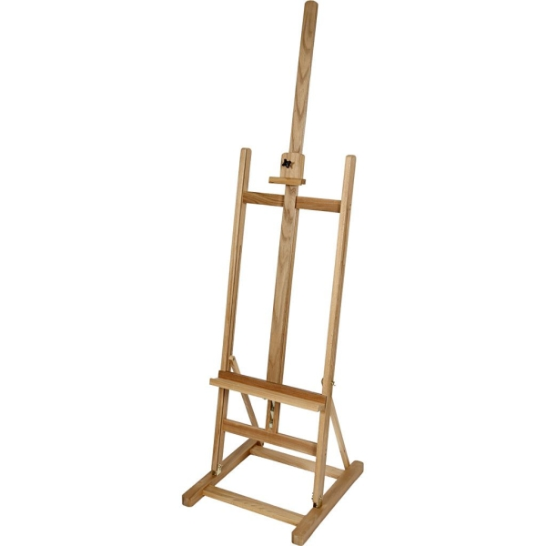 Chevalet d'atelier, h: 247 cm, poids 9 kg, 1 pièce, hêtre - Photo n°1