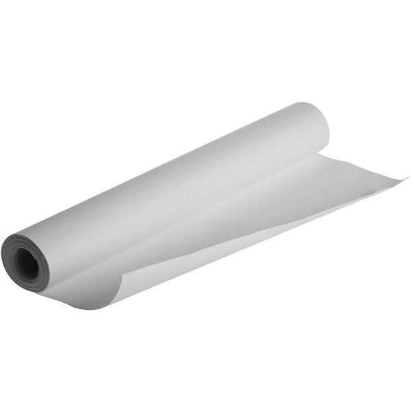 Toile en coton blanc - 380 g - 50 cm x 5 m - Photo n°1