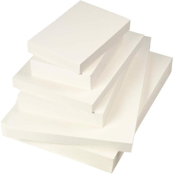 Assortiment de papiers aquarelle - 600 feuilles - Photo n°1