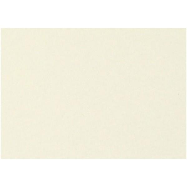 Papier cartonné Blanc cassé A4 - 135 gr - 25 pcs - Photo n°1