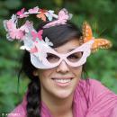 Lunettes Papillon à décorer en bois - 17,5 x 15,5 cm - Photo n°2