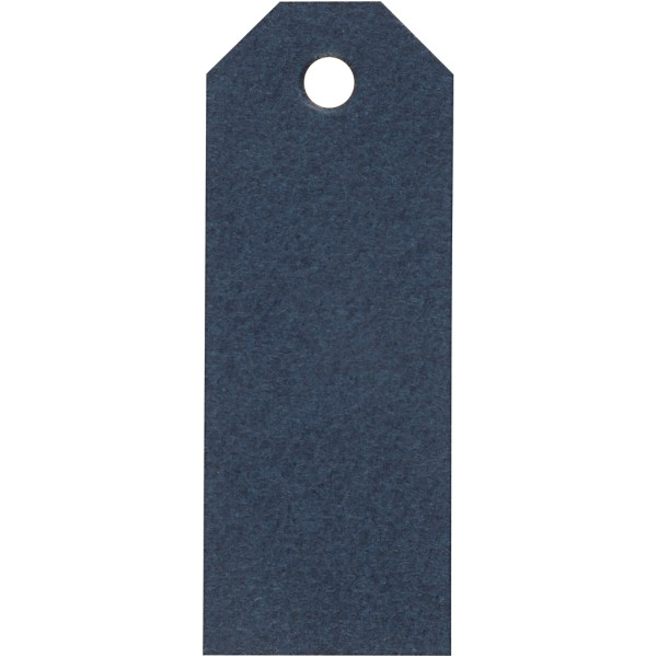 Étiquettes cadeaux 3x8 cm - Bleu - 20 pcs - Photo n°1