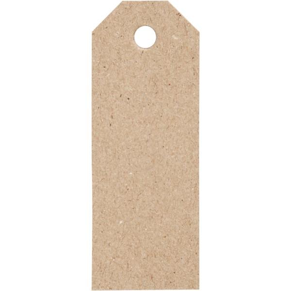 Étiquettes cadeaux 3x8 cm - Naturel - 20 pcs - Photo n°1