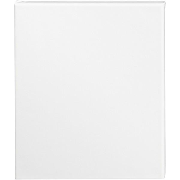 Carton entoilé coton blanc - 24 x 30 cm - 1 pce - Photo n°1