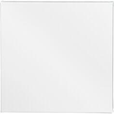 Cadre photo en coton - 40 x 40 cm - Blanc