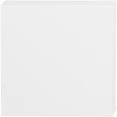 Carton toilé Blanc ArtistLine - 30 x 30 cm - Profondeur 3,7 cm