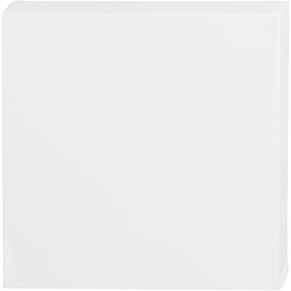 Carton toilé Blanc ArtistLine - 30 x 30 cm - Profondeur 3,7 cm - Photo n°1