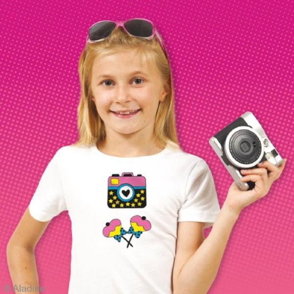 Stampo't-shirt - Kit tampons Encreur et Feutres textiles - Starlette - Photo n°3