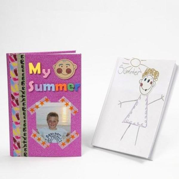 Carnet de notes carnet de notes à décorer - A6 - Brun - Photo n°2