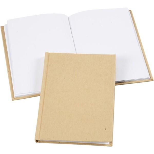 Carnet de notes carnet de notes à décorer - A6 - Brun - Photo n°1