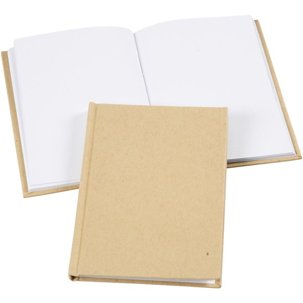 Carnet de notes carnet de notes</a> à décorer - A6 - Brun - Photo n°1