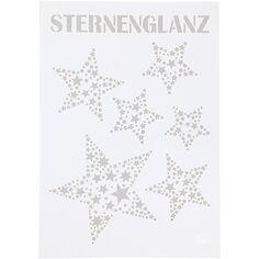 Pochoir A4 Étoiles Sternenglanz - 1 pce