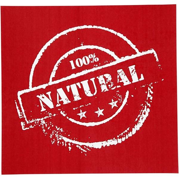 Pochoir 100% Natural - 20 x 22 cm - 1 pce - Photo n°1