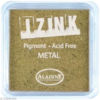 Encreur à pigment Izink Aladine - Or métallique