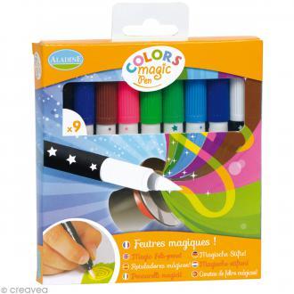 Feutres Colors magic pen - 9 feutres