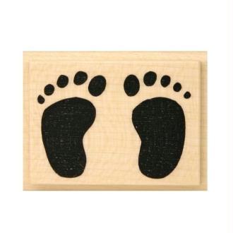 Tampon Naissance Empreintes de pieds