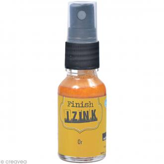 Encre Izink Dye en spray - Finish or - 15 ml