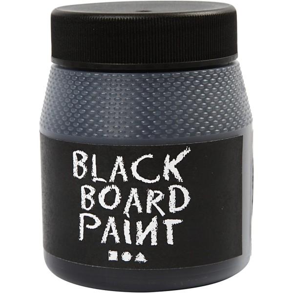 Peinture tableau ardoise - Noire - 250 ml - Photo n°1