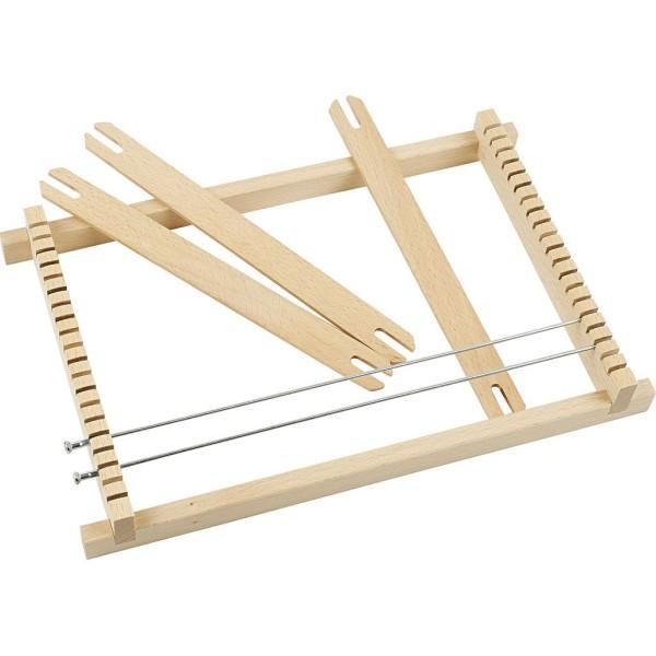 Métier à tisser en bois - 19 x 29 cm - Photo n°1