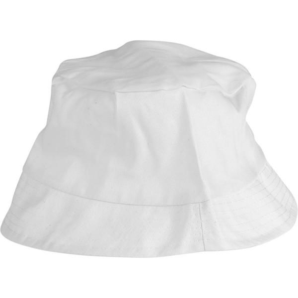 Bob en tissu à décorer - Blanc - 54 cm - 1 pce - Photo n°1