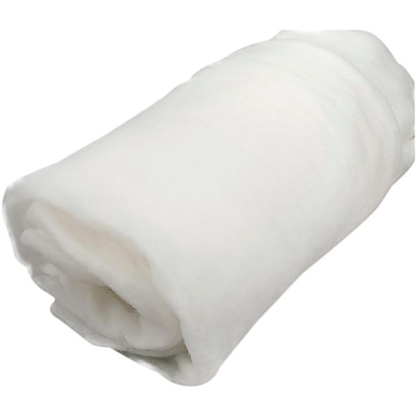 Rembourrage polyester épaisseur 1 cm - 160 cm x 5 m - Photo n°1