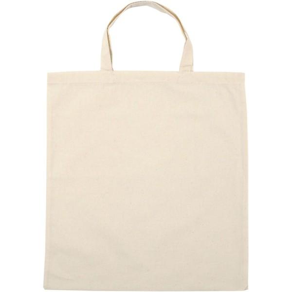 Sac en coton - Naturel clair - 38 x 42 cm - 5 pcs - Photo n°1