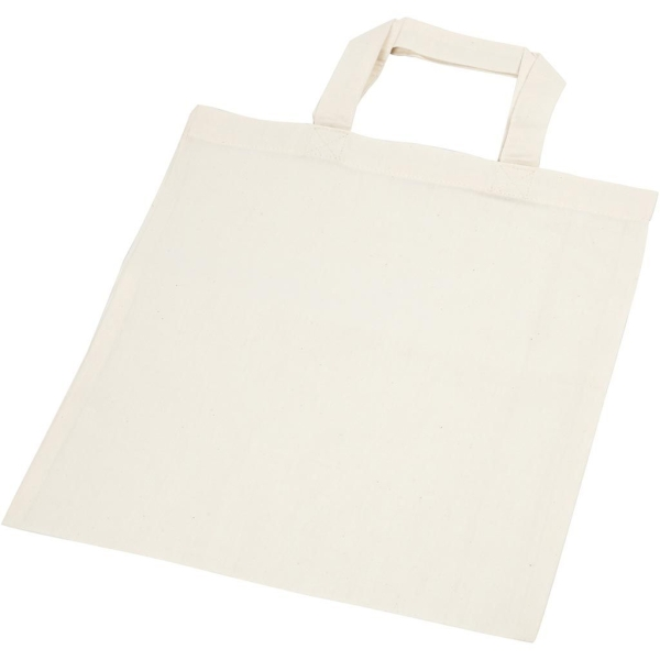 Sac tote bag - Naturel clair - 30 x 33 cm - Photo n°1