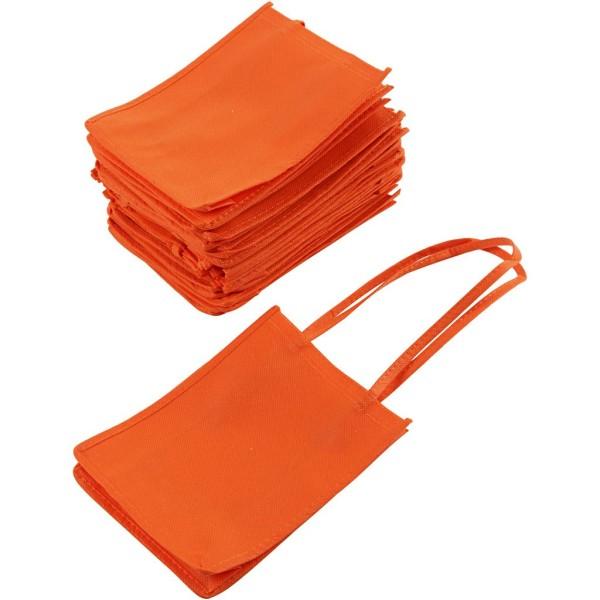 Sacs tote bag - Orange - 20 x 15 cm - 20 pcs - Photo n°1
