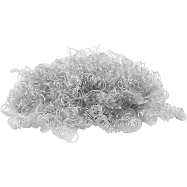 Cheveux d'ange artificiel - Gris clair - 15 g - Photo n°1