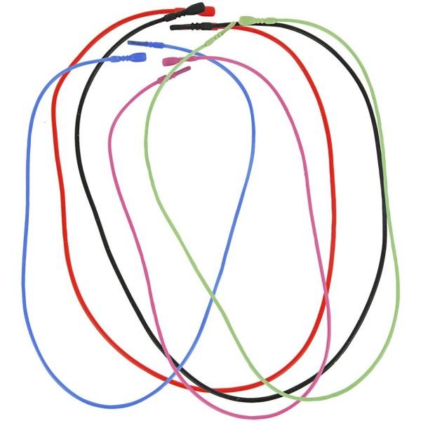 Assortiment de colliers élastiques - 46 cm - 5 pcs - Photo n°1