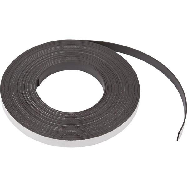 bande magn tique l 12 5 mm p 1 5 mm 1 m aimant. Black Bedroom Furniture Sets. Home Design Ideas