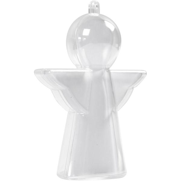 Boule de Noël - Ange à décorer - 10 cm - 4 pcs - Photo n°1