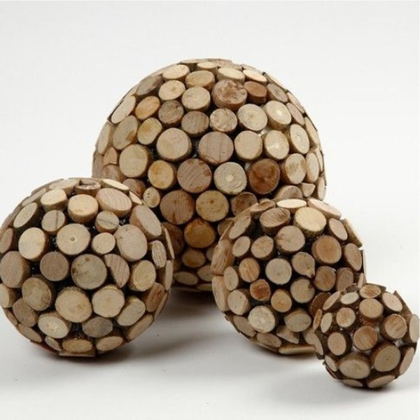 Lot de boules en polystyrène - 5 cm - 5 pcs - Photo n°5