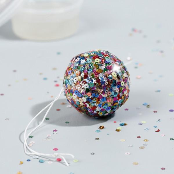 Lot de boules en polystyrène - 6 cm - 5 pcs - Photo n°6