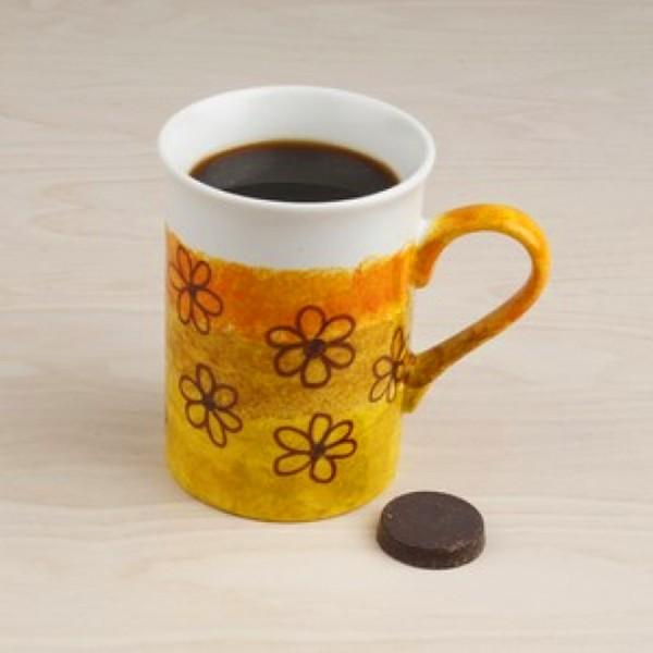 Tasse en porcelaine à décorer - 8 x 10 cm - Photo n°3