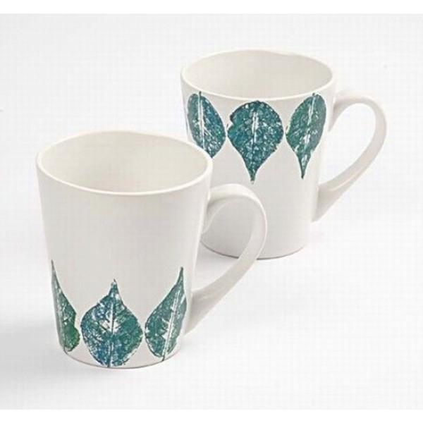 Tasse en porcelaine à décorer - 8 x 10 cm - Photo n°5